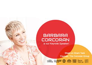 See Shark Tank's Barbara Corcoran at Experience!