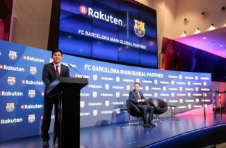 Rakuten se tornará o principal parceiro global do FC Barcelona
