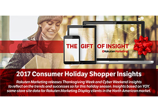 Holiday Infographic: Empowering Marketers with the Gifts of Insight