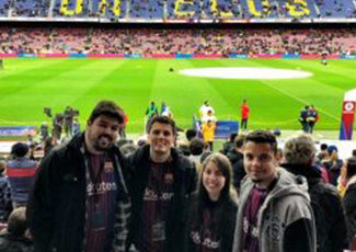 Rakuten Marketing Brasil prestigia jogo do Barcelona e proporciona experiência VIP para clientes