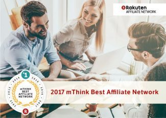 Thank You for Making Rakuten Affiliate Network #1 for the 6th Year in a Row!