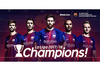 FC Barcelona vence campeonato espanhol e CEO da Rakuten comenta a sinergia entre as empresas Rakuten e o clube espanhol