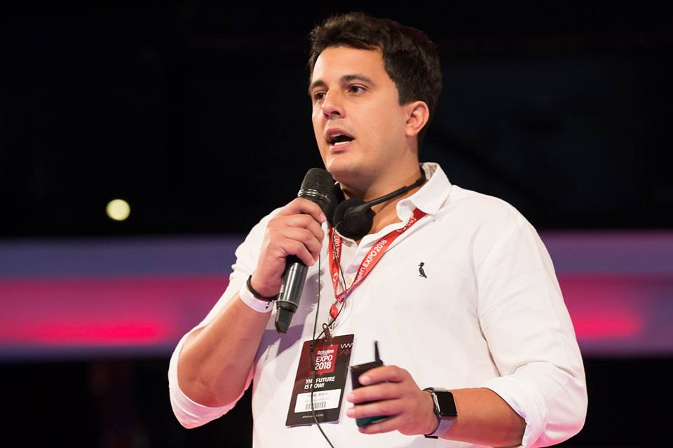 Rafael Bonfá na Rakuten EXPO 2018