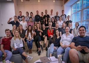 Rakuten Marketing APAC team in their new office