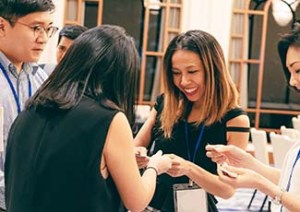Attendees at DealMaker Singapore Networking