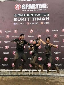 Rakuten staff at Spartan Race Singapore