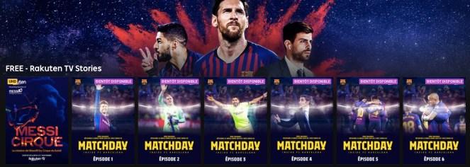 Rakuten TV - Matchday