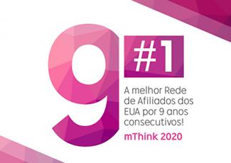 Pelo 9º ano consecutivo, mThink elege a Rakuten Marketing como a melhor rede de afiliados dos EUA
