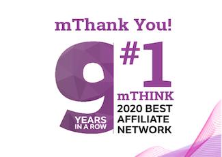 Vielen Dank – Sie haben uns das 9. Jahr in Folge zum Affiliate-Netzwerk Nr. 1 gemacht!