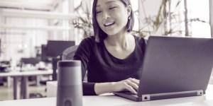 women shopping using voice voucher publishers