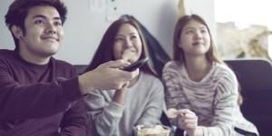 Millennials watching Viki together